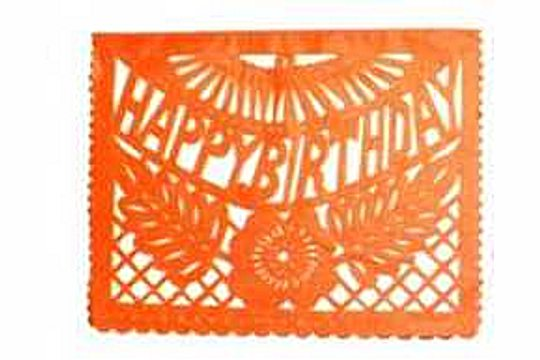 Papel Picado - Happy Birthday