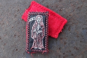 New Style Embroidered Santisima Muerte Patch