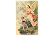 Art Postcard - Anjo da Guarda (Guardian Angel)