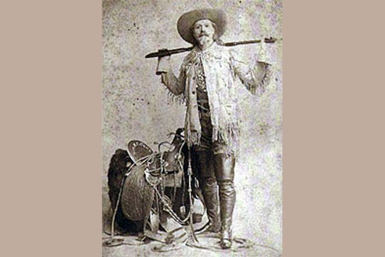Buffalo Bill (William Frederick Cody) Art Postcard