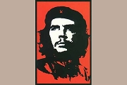 Art Postcard - Ché Guevara (Red)