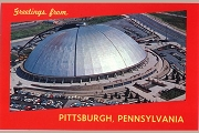 Art Postcard - Greetings from Pittsburgh, Pennsylvania