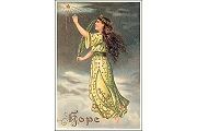 Hope Angel Art Postcard