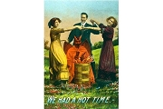 Art Postcard - We Had a Hot Time