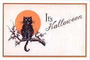 Art Postcard Its Halloween