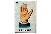 Art Postcard - La Mano (The Hand)