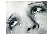 Art Postcard: Larmes (Tears), 1930-33 by Man Ray