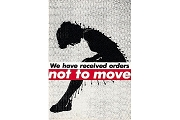 Fine Art Postcard - Barbara Kruger - Untitled (Not to Move), 1982