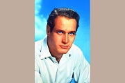 Art Postcard - Paul Newman