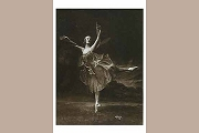 Art Postcard - Anna Pavlova as the Dragonfly, c 1911