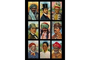 Art Postcard - Peoples of the World I