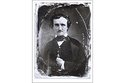 Fine Art Postcard - Unknown Photographer - Portrait, E.A. Poe, 1845