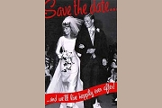 Art Postcard - Save the Date
