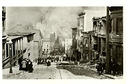 Art Postcard - San Francisco Fire, 1906