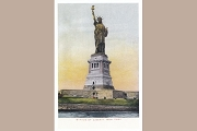 Art Postcard - Statue of Liberty, New York