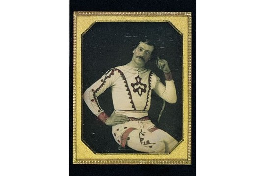 William G Worrell, Welch's National Circus and Theatre Art Postcard
