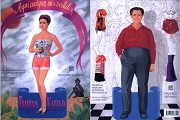 Frida Kahlo and Diego Rivera Paper Dolls