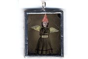 Hand-Made Evil Child Fairy (or Angel?) Pendant