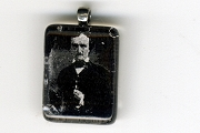 New Edgar Allan Poe Glass Pendant