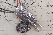 Pentacle of the Raven Pendant