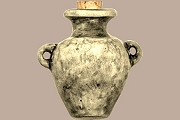 Ceramic High Fire Urn - Jug