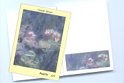 Claude Monet Waterlilies Post-It Notes