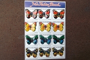 New Old Stock Tin Litho Metal Butterfly Pins