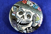 Pin-Back Button - Catrina
