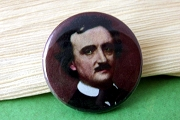 Pin-Back Button: Edgar Allan Poe