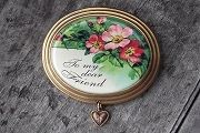 To my dear Friend Cameo Pin in Gift Box