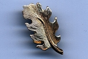 Vintage Golden Leaf Pin
