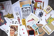 Playing Card Collage Grab Bag - 24+ Pieces and a Mini Pack of Cards