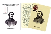 Confederate Generals Playing Cards