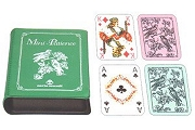 Tiny Patience Playing Card Set of 2 Decks in Case