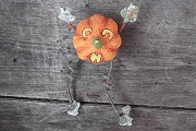 Handmade Pumpkin Man Ornament