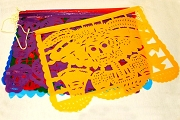 Papel Picado - New Muertos (Day of the Dead) Banner