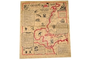 Pirate Treasure Map - Historical Reproduction Document