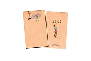 Circus Notepad from Red Horseshoe Paper