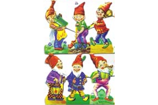 Elves Scraps (Small Sheet of 6)