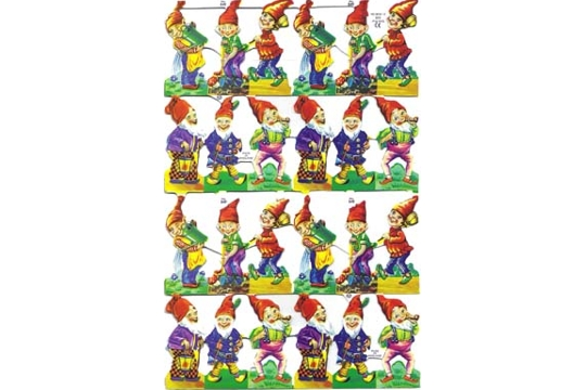 Elves Scraps (Sheet of 24)