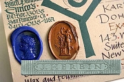 J.Herbin Sealing Wax - Supple Silver - For Mailing
