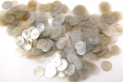 Vintage Loose Taupe Celluloid Sequins - 4 Gram Package