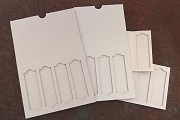 Microscope Slide Mailer (AKA, Mini Shrine Base) - Package of 5