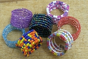 Spiral Seed Bead Adjustable Ring or Whatever!?<br>Mix & Match Colors for Quantity Discount