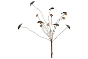 Wire Sprig Full of Crows and Stars
