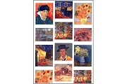 Self-Adhesive Stickers: van Gogh - 12 images