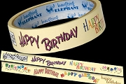 HAPPY BIRTHDAY Gift Tape