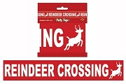 Reindeer Crossing All Weather Decorative Tape