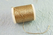 Metallic Golden Thread for Binding Straw Stars, Fly Tying and More - Hard to Find