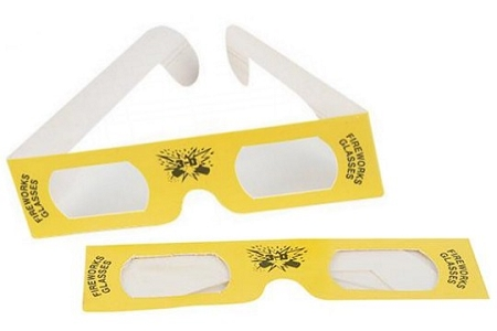 3D Fireworks Glasses - New Old Stock